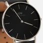 Наручные часы Daniel Wellington Classic Sheffield Black/Silver/Black фото - 2