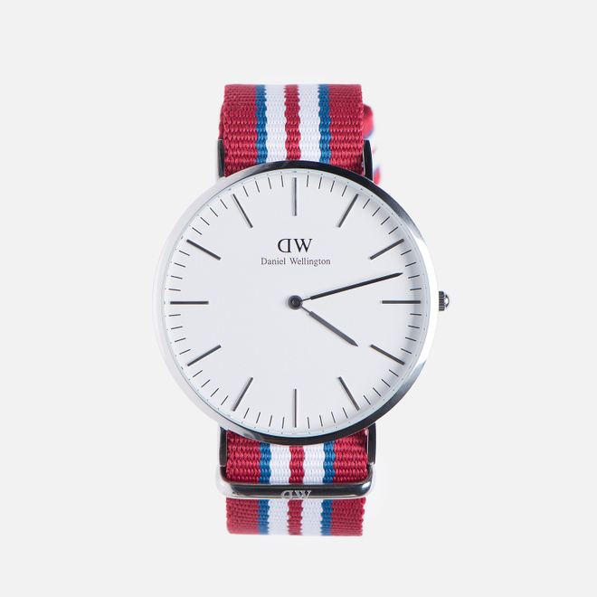Наручные часы Daniel Wellington Classic Exeter Silver