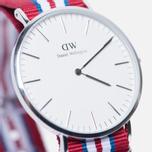 Наручные часы Daniel Wellington Classic Exeter Silver фото- 2