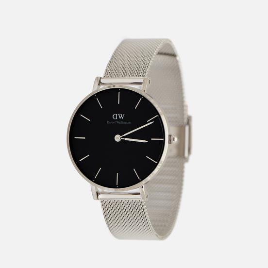 Наручные часы Daniel Wellington Petite Sterling Silver/Silver/Black