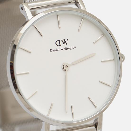 Наручные часы Daniel Wellington Petite Sterling Silver/Silver/Matt White
