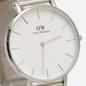 Наручные часы Daniel Wellington Petite Sterling Silver/Silver/Matt White фото - 2