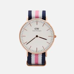 Наручные часы Daniel Wellington Classic Southampton Blue/Pink/White/Rose Gold/Eggshell White