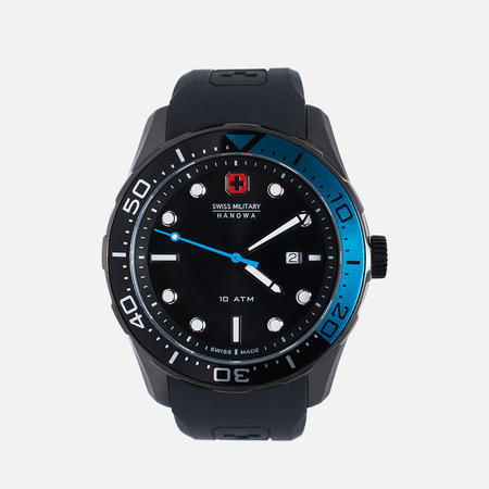 Swiss Military Hanowa Aqualiner Men's Watch Black/Blue