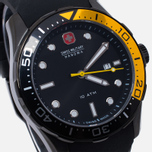 Мужские наручные часы Swiss Military Hanowa Aqualiner Black/Gold фото- 2