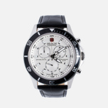 Мужские наручные часы Swiss Military Hanowa Navy Line Flagship Chrono Silver/Black фото- 0
