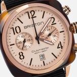 Briston Chrono Watch Black/Gold photo- 2