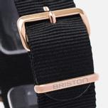 Briston Chrono Watch Black/Gold photo- 3
