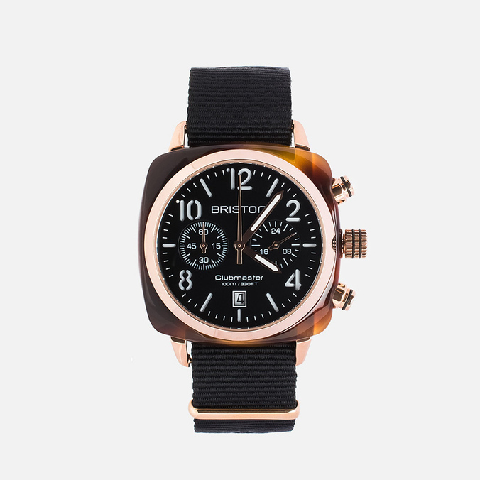 Наручные часы Briston Chrono Black/Gold/Black
