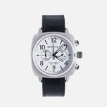 Briston Chrono Watch Black/Steel photo- 0