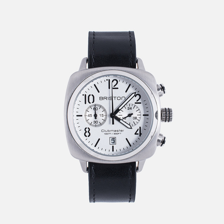Наручные часы Briston Chrono Black/Steel