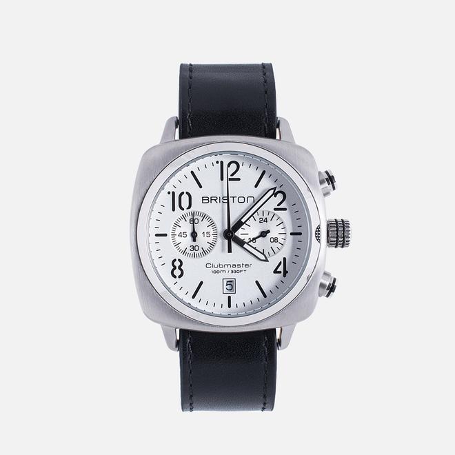 Наручные часы Briston Chrono Black/Steel
