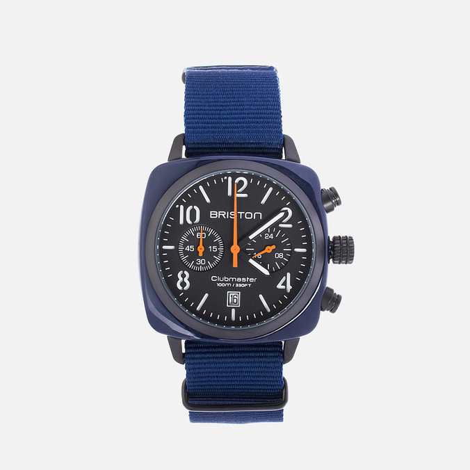 Briston Chrono Watch Blue