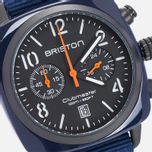 Briston Chrono Watch Blue photo- 2