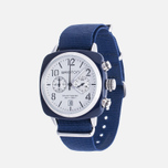 Briston Chrono Watch Blue/White photo- 1
