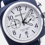 Briston Chrono Watch Blue/White photo- 2