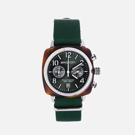 Briston Chrono Watch Green
