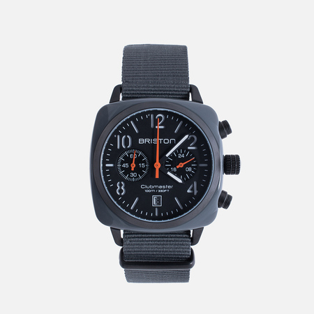 Briston Chrono Watch Grey