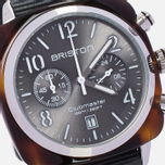 Наручные часы Briston Chrono Grey/Brown фото- 2