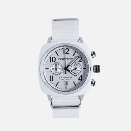 Briston Chrono Watch White
