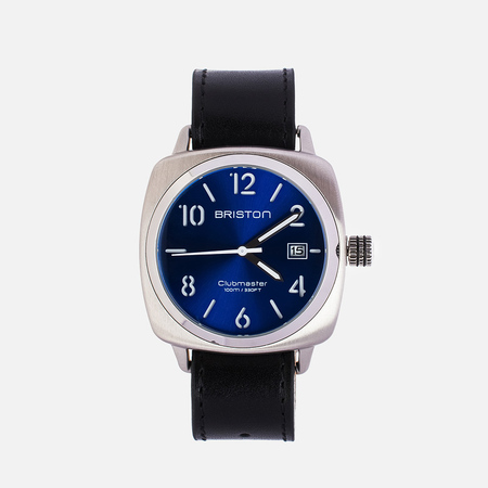 Briston HMS Watch Black/Blue