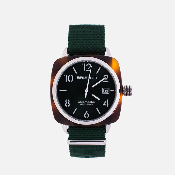 Briston HMS Watch Green/Brown