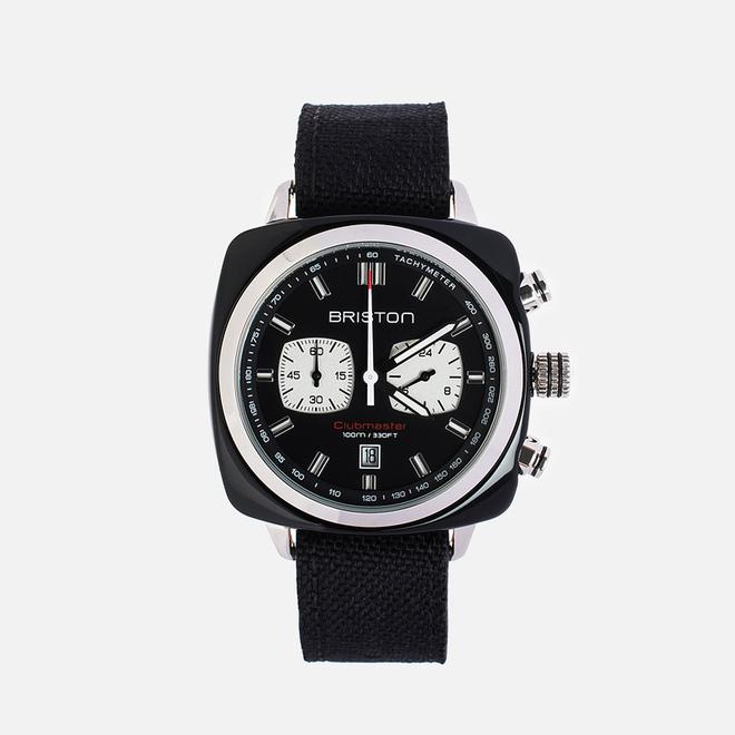 Наручные часы Briston Sport Chrono Day-Date Black