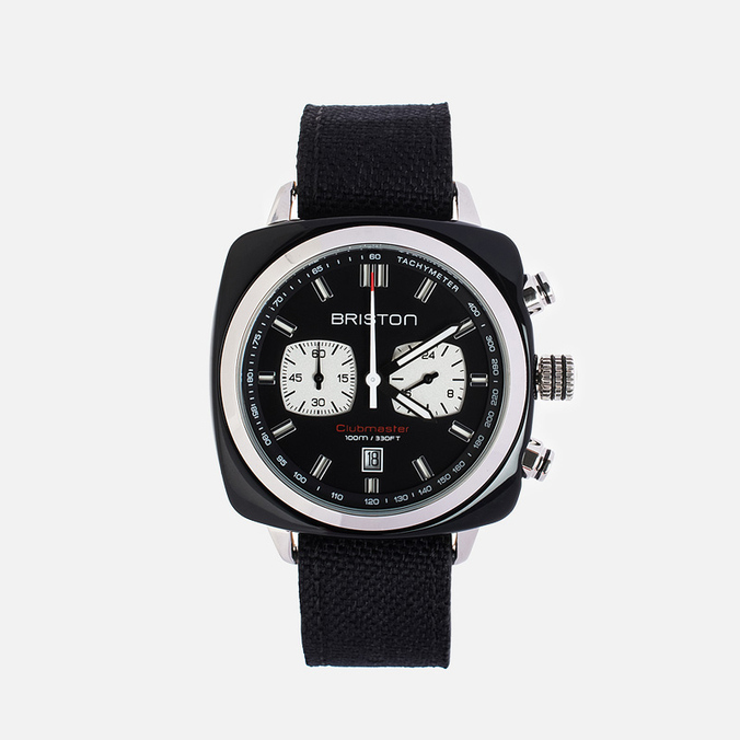 Наручные часы Briston Sport Chrono Day-Date Black