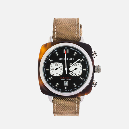 Наручные часы Briston Sport Chrono Day-Date Brown