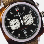 Briston Sport Chrono Day-Date Watch Brown photo- 2