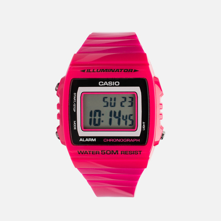 CASIO Collection W-215H-4AVEF Watch Pink
