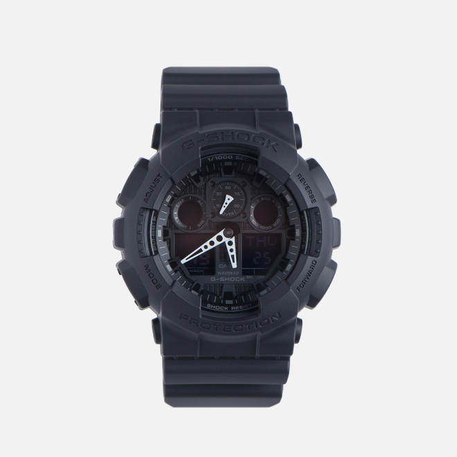 Наручные часы CASIO G-SHOCK GA-100-1A1ER Black