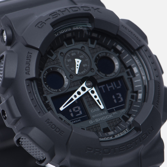 Наручные часы CASIO G-SHOCK GA-100-1A1ER Black