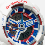 Наручные часы Casio G-SHOCK GA-110TR-7A White/Blue/Red фото- 2