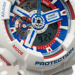 Наручные часы Casio G-SHOCK GA-110TR-7A White/Blue/Red фото- 3