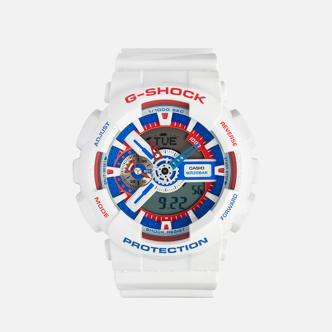 Наручные часы Casio G-SHOCK GA-110TR-7A White/Blue/Red