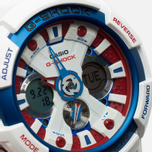 Наручные часы Casio G-SHOCK GA-201TR-7A White/Blue/Red фото- 2