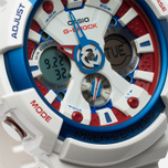 Наручные часы Casio G-SHOCK GA-201TR-7A White/Blue/Red фото- 3