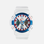 Наручные часы Casio G-SHOCK GA-201TR-7A White/Blue/Red фото- 0