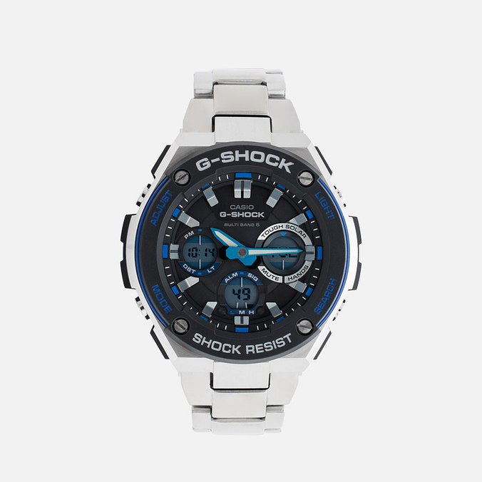 Наручные часы CASIO G-SHOCK GST-W100D-1A2ER Steel/Black/Blue