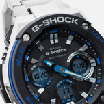 Наручные часы CASIO G-SHOCK GST-W100D-1A2ER Steel/Black/Blue фото- 2