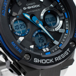 Наручные часы CASIO G-SHOCK GST-W100D-1A2ER Steel/Black/Blue фото- 3