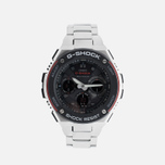 Наручные часы CASIO G-SHOCK GST-W100D-1A4ER Steel/Black/Red фото- 0