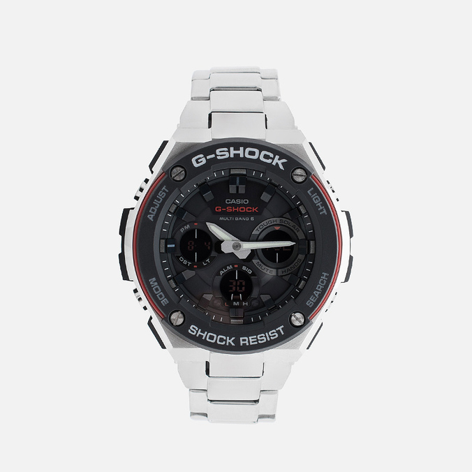 Наручные часы CASIO G-SHOCK GST-W100D-1A4ER Steel/Black/Red