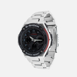 Наручные часы CASIO G-SHOCK GST-W100D-1A4ER Steel/Black/Red фото- 1