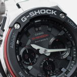 Наручные часы CASIO G-SHOCK GST-W100D-1A4ER Steel/Black/Red фото- 2