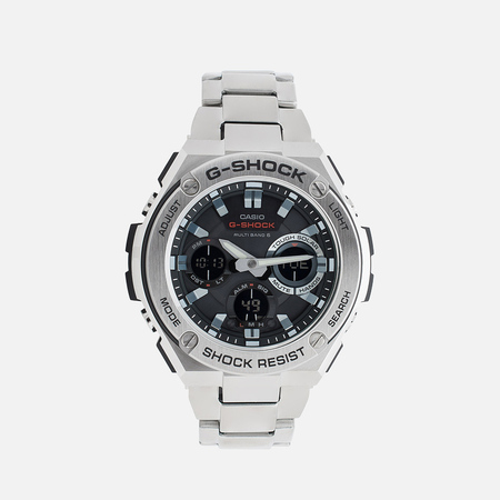 CASIO G-SHOCK GST-W110D-1AER Watch Steel/Black