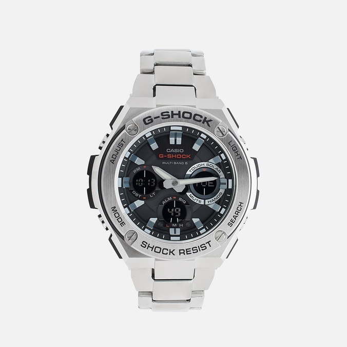 Наручные часы CASIO G-SHOCK GST-W110D-1AER Steel/Black