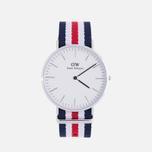 Наручные часы Daniel Wellington Classic Canterbury Silver фото- 0