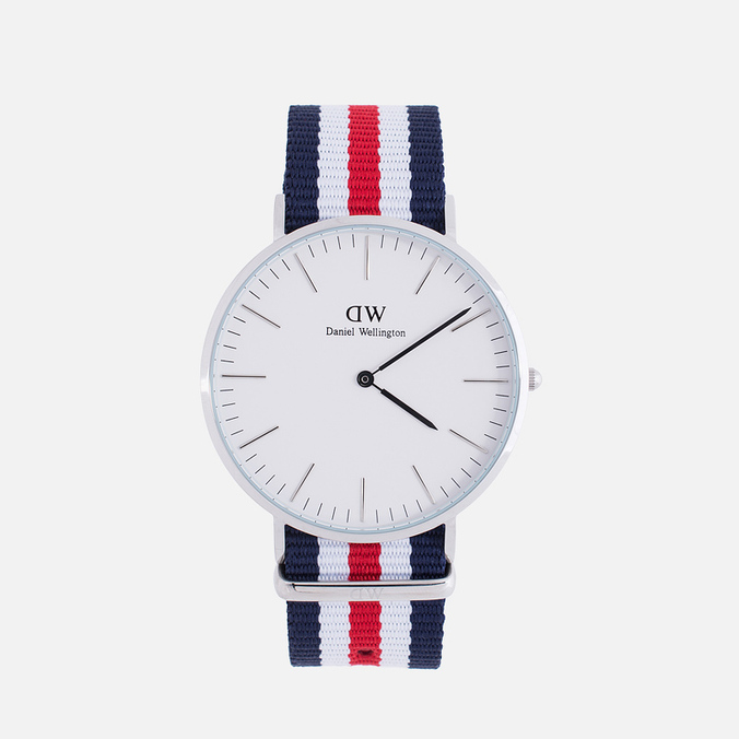 Daniel Wellington Classic Watch Canterbury Silver